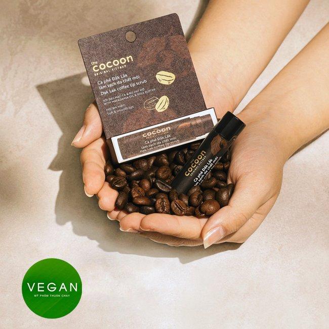 Hình ảnh sản phẩm Cà phê đắk lắk làm sạch da chết môi cocoon: