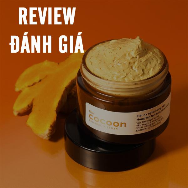 Hình ảnh video đánh giá review Mặt nạ Nghệ Hưng Yên Cocoon sử dụng như thế nào?