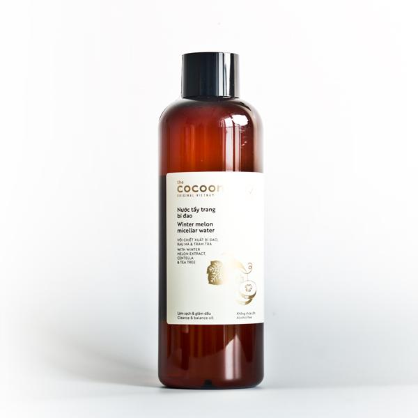Nước tẩy trang bí đao cocoon 500ml dành cho da dầu, da mụn