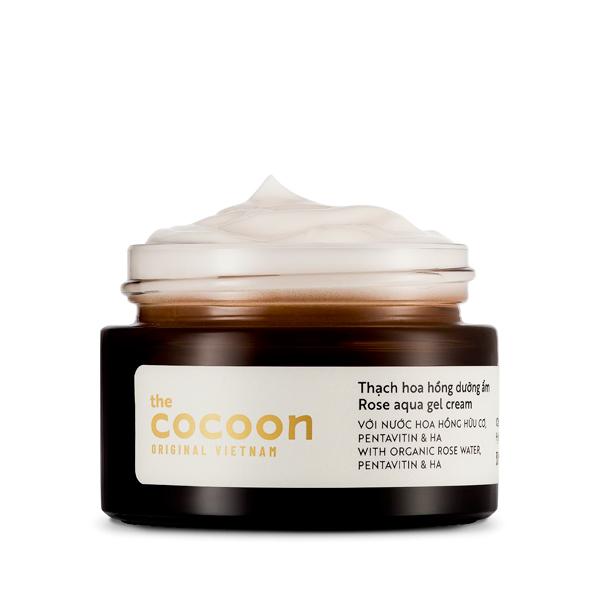 Thạch hoa hồng dưỡng ẩm cocoon 30ml (rose aqua gel cream)